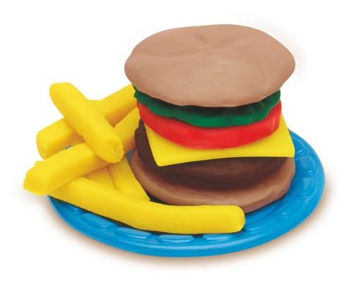 Play-Doh Burger Party Giocattolo