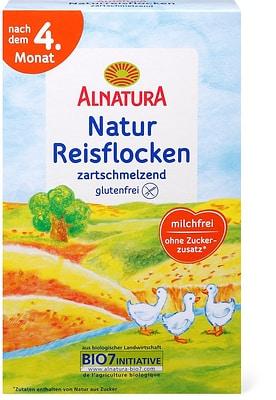 Alnatura Flocons de riz naturel