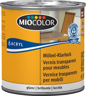 miocolor m bel klarlack hochgl nzend migipedia. Black Bedroom Furniture Sets. Home Design Ideas