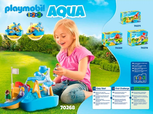 PLAYMOBIL® 70268 Carrousel Aquatique