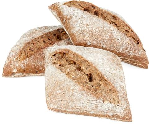 Petit pain au four en pierre naturel