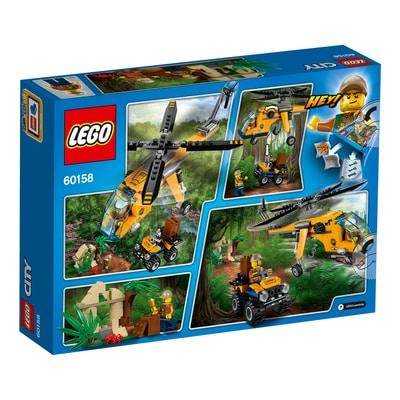 LEGO City Elicottero da carico della giungla 60158