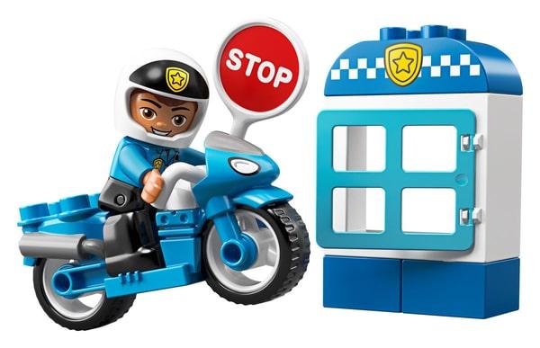 LEGO Duplo 10900 La moto de polic