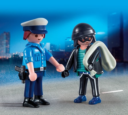 Playmobil Duo Packs Poliziotto e Ladro 9218