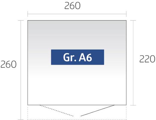 Biohort Gerätehaus AvantGarde Gr. A6