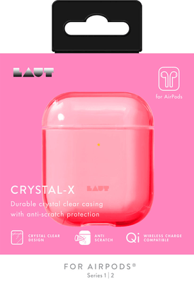 Laut Crystal-X for AirPods - Electric coral Case