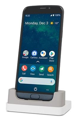 Doro 8050 silver with Cradle&Wallet  Smartphone