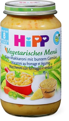 HiPP Macaroni au fromage et légumes