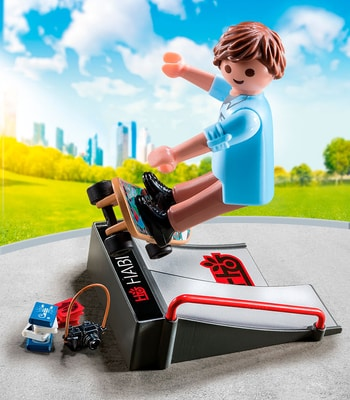 Playmobil Special Plus Skateur avec rampe 9094