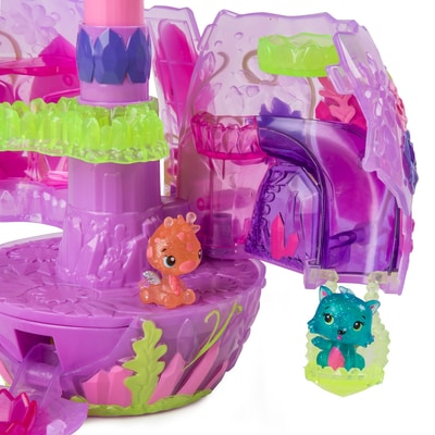 Hatchimals Collegg. Secret Scene Playset Crystal Canyon
