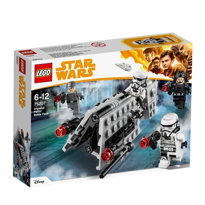 Lego Star Wars 75207 Battle Pack Pattuglia imperiale