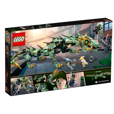 LEGO NINJAGO Drago Mech Ninja verde 70612