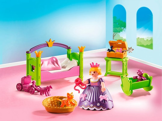 Playmobil princess chambre de princesse 6852 migros for Playmobil chambre princesse