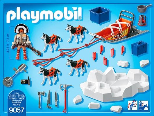 Playmobil Action Explorateur avec chiens de traineau 9057