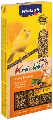 Vitakraft cracker Miele&sesamo, canar.