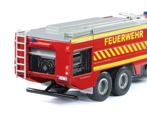 Siku Mercedes Zetros Feuerwehr 1:50 Modellfahrzeug