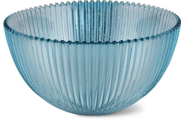 Cucina & Tavola Glasbowl Rillen 15.2cm