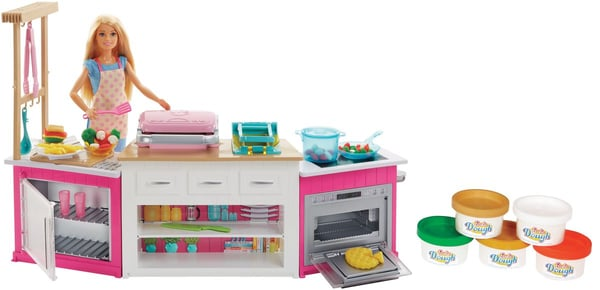 Barbie Coffret Cuisine à Modeler