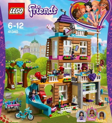 Lego Friends Freundschaftshaus 41340