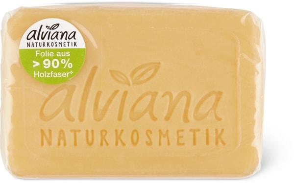 Alviana sapone di olio vegetale Latte&miele