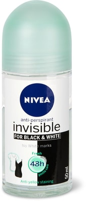 Nivea Deo Roll-on Black & White Invisible Fresh