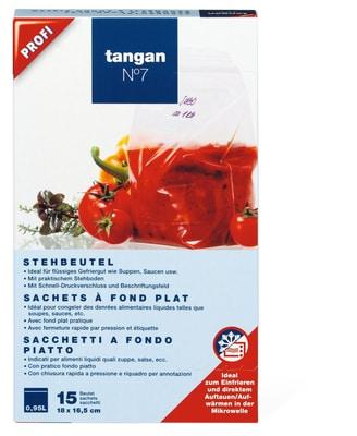Tangan N°7 Sachets à fond plat