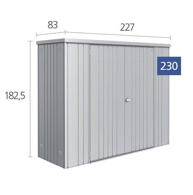 biohort ger teschrank 230 migros. Black Bedroom Furniture Sets. Home Design Ideas