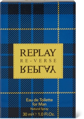 Replay Signature Reverse for Man EdT Natural Spray