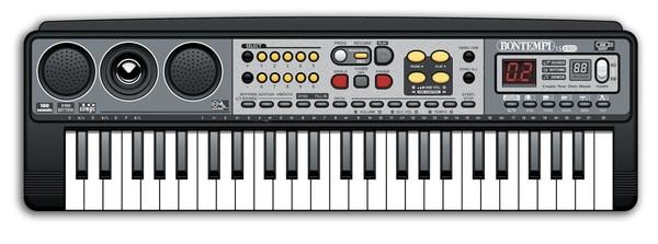 54 Midi Keyboard Musik