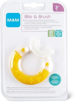 MAM Beissring Bite + Brush