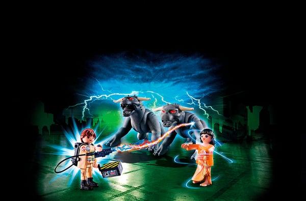 Playmobil Ghostbusters Venkman et les chiens des ténèbres  9223