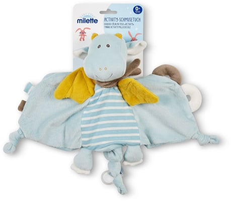 Milette Doudou câlin en tissu 'activity'