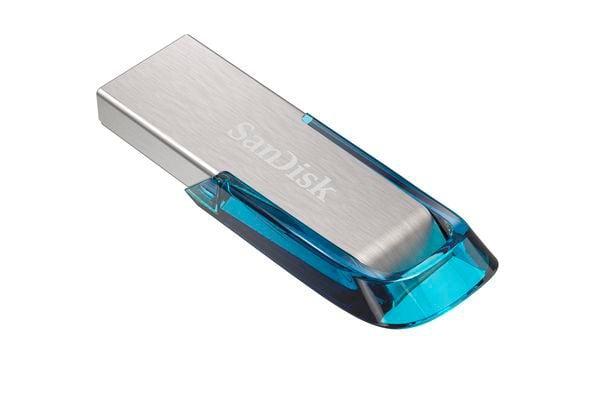 SanDisk Ultra USB 3.0 Flair 128Go bleu USB 3.0