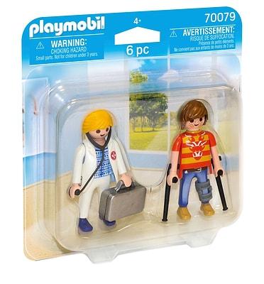 PLAYMOBIL 70079 Médecin et patient