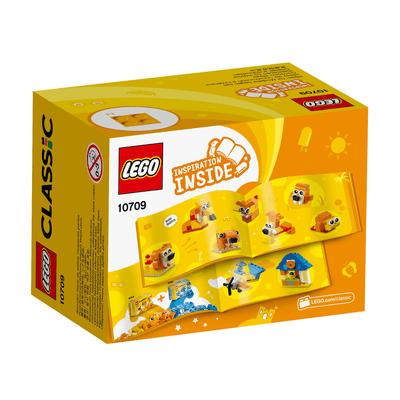 LEGO Classic Boîte de construction orange 10709