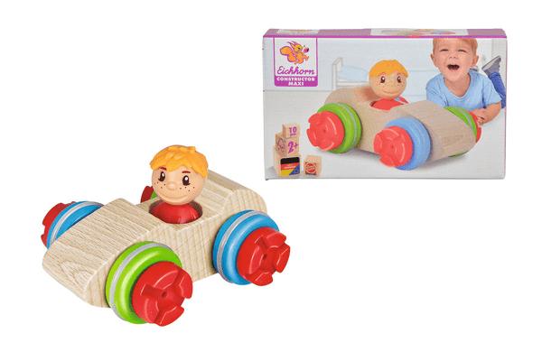 Eichhorn Constructor Maxi Auto da corsa Set di giocattoli