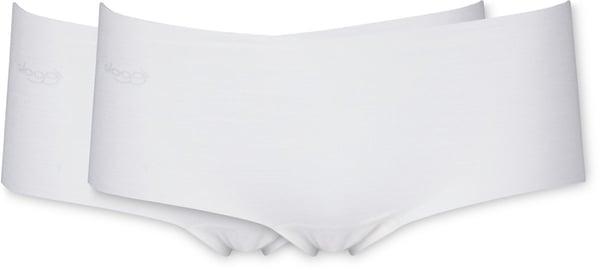 Sloggi donna short conf. 2 Zero Modal bianco