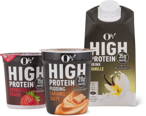 Oh! High Protein Caramel Pudding