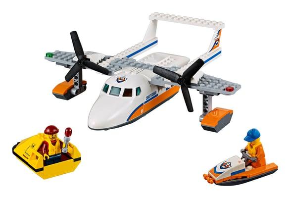 LEGO City L'hydravion de secours en mer 60164