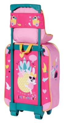 Zapf Creation Baby Born Holiday Trolley Bambole accessori