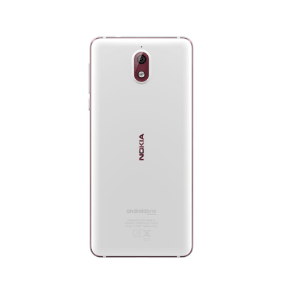 Nokia 3.1 (2018) Dual SIM 16GB weiss Smartphone
