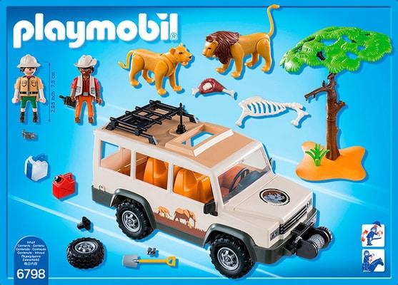PLAYMOBIL Safari-Geländewagen mit Seilwinde 6798