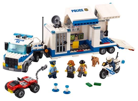 Lego City Le poste de commandement mobile 60139