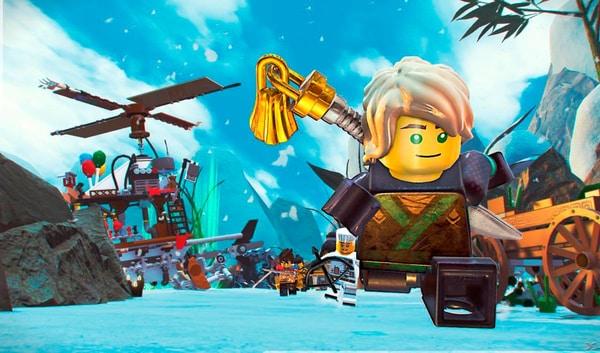 Switch - LEGO Ninjago Movie Videogame Box