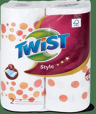 Twist Style Haushaltpapier