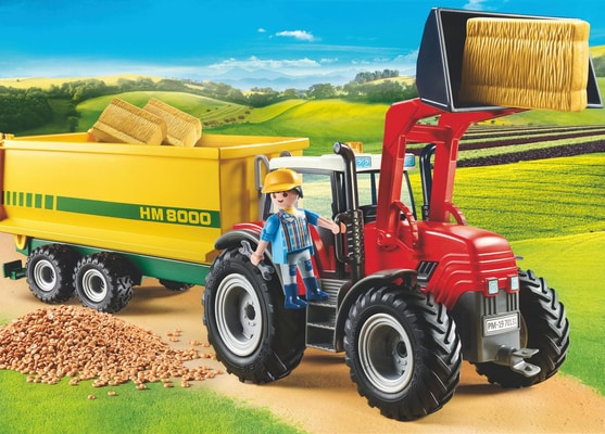 PLAYMOBIL 70131 Grand tracteur