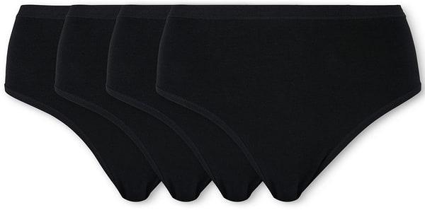 Damen Slip Midi schwarz