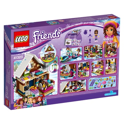 Lego Friends Le chalet de la station de ski 41323