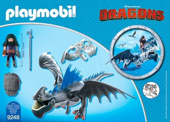 Playmobil Dragons Drago avec dragon de combat 9248