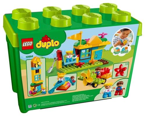 Lego Duplo 10864 Scatola - Parco Giochi